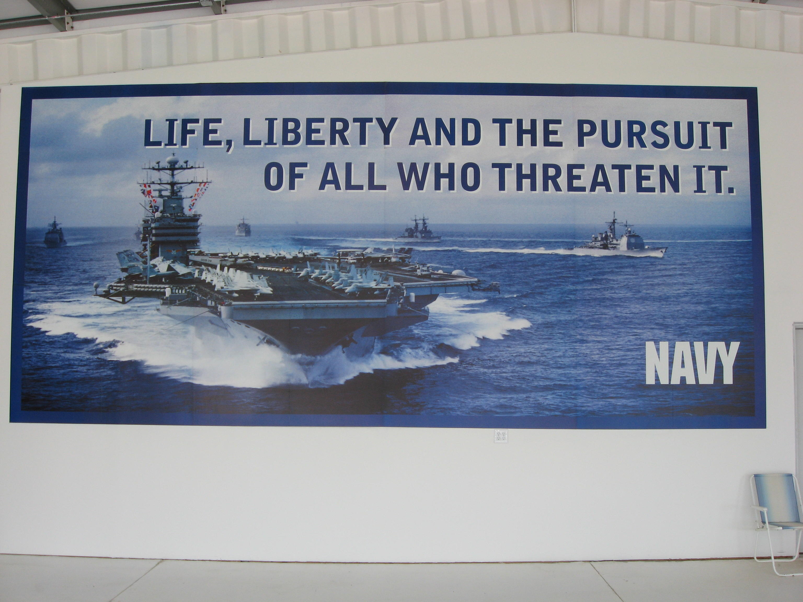 """/""""Life..Liberty..And The Pursuit Of All Who Threaten It/"""""""